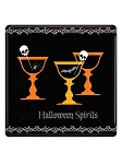 Halloween Spirits Cocktail Plates