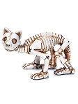 Miniature Skeleton Cat Figurine