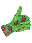 Neon Comical Zombie Hand - Thumbs Up