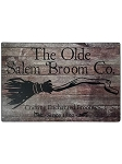 The Olde Salem Broom Company Metal Sign