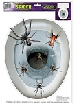 Peel 'N Place Spiders Toilet Topper