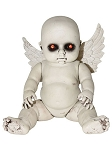 Sitting Dark Angel Baby Doll