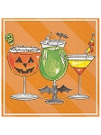 Rosanne Beck Spooky Cocktail Napkins