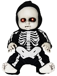 Sitting Skeleton Baby Doll