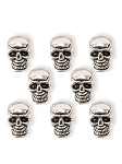 Steampunk™ Small Skulls  Jewelry Charms