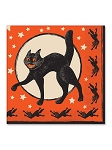 Vintage Halloween Luncheon Napkins