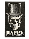 Vintage Halloween Skeleton Dinner Napkins