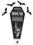 Vintage House of Horrors Sign
