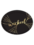 Wicked Round Serving Platter