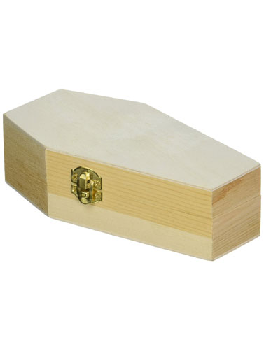 Miniature Wood Craft Coffin