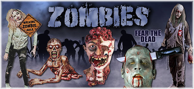 Zombies Halloween Party Theme