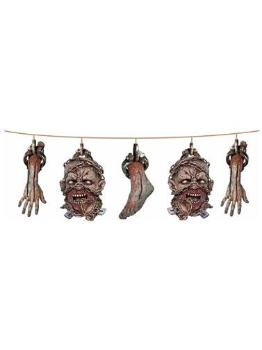 New Cut Off Zombie Head Display