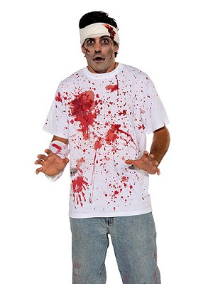 Bloody Shirt Costume