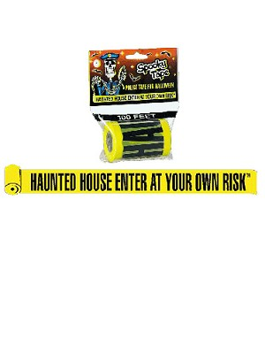 Haunted House Barricade Tape