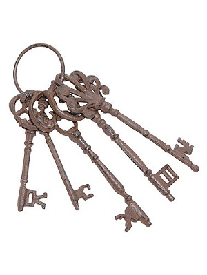Old Iron Keys Prop