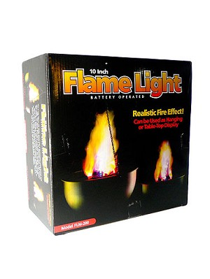 Battery Operated Flame Light