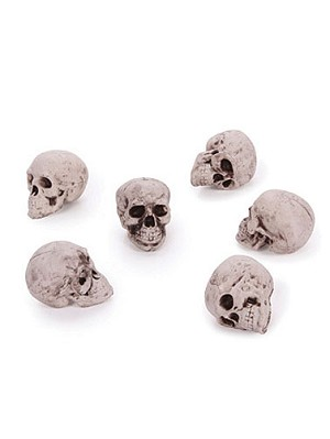 Medium Plastic Skulls
