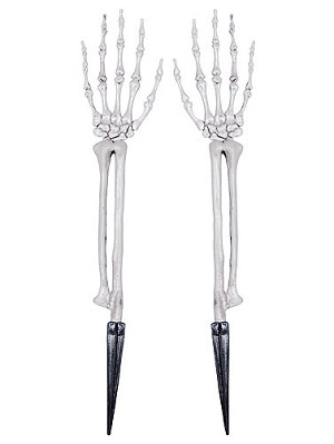 Skeleton Hands Lawn Stakes