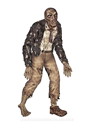 Jointed Zombie Wall Cut-Out