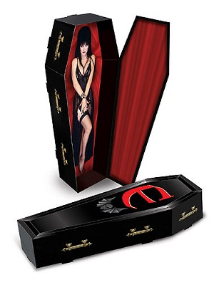 Elvira 3 D Coffin Centerpiece Decoration Halloween Coffin Decorations