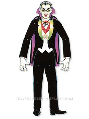 Jointed Dracula Cut-Out