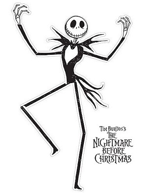 Nightmare Before Christmas Jointed Jack Cut-Out
