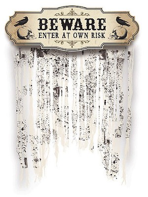Boneyard Doorway Curtain