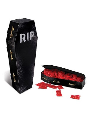 3 D Coffin Centerpiece Decoration Halloween Coffin Decorations