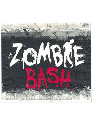 Zombie Bash Beverage Napkins