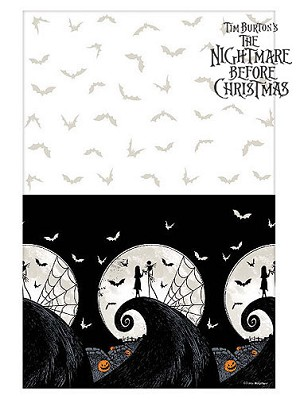 Nightmare Before Christmas Plastic Table Cover
