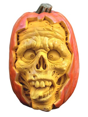 Dead Ed 3D Pumpkin Wall Art