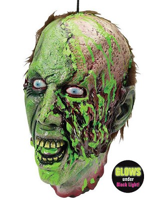 Biohazard Zombie Cut-Off Head Prop