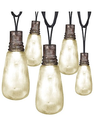 Rusty Attic Light String Lights