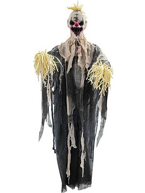 Hanging Scarecrow Clown