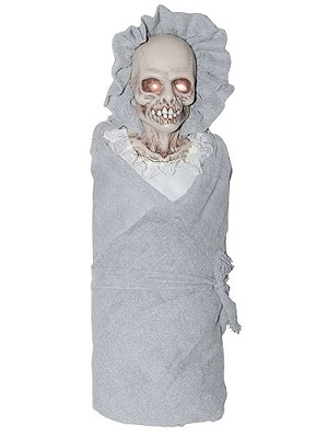 Skeleton Baby Prop with Lights and Sound