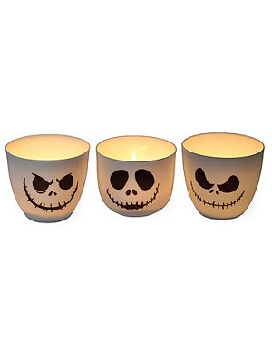 Skelly Votive Candle Holders- 3PC